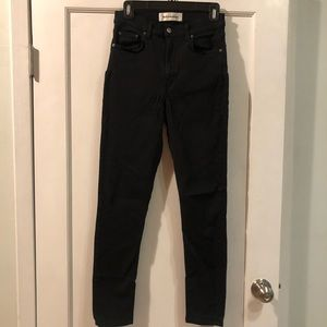 Reformation Jeans - REFORMATION High & Skinny Jean black